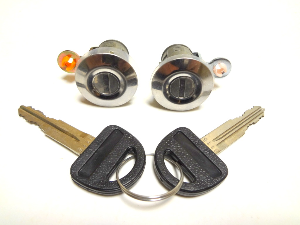 Suzuki grand vitara 1998 2005 2 door lock cylinder with 2 for Door lock parts
