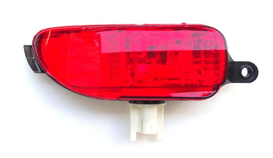 OPEL VAUXHALL CORSA C 2001-2003 REAR BUMPER RIGHT FOG LIGHT LAMP LENS
