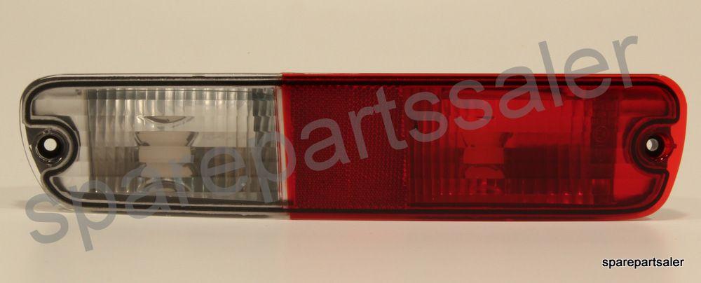 Rear Bumper Fog Lights Lamp Set LH+RH Mitsubishi Pajero Montero Shogun 2003